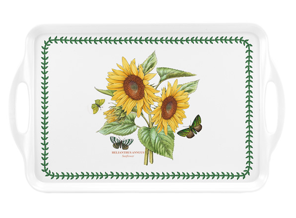 Botanic Garden Sunflower Handled Tray